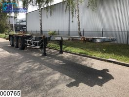 container chassis semi trailer Samro Chassis Container chassis, Steel suspension 1989