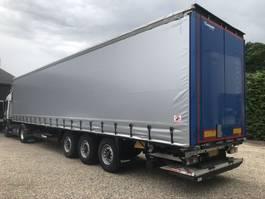 sliding curtain semi trailer Krone N/A Taut-Line Laadklep 2000 KG  2014. Nieuwe Zeil 2014