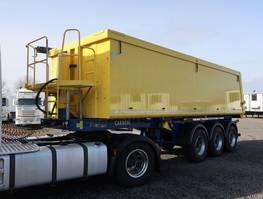 tipper semi trailer Carnehl CHKS/A 26m³ Alu/Stahl 5.660 kg Kunststoffausschlag 2019