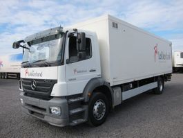closed box truck > 7.5 t Mercedes-Benz 1824 L Axor Koffer LBW Euro 5 2008