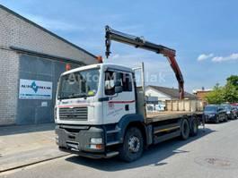 samochód ciężarowy z nadwoziem burtowym MAN TGA 33.350 6x4 Blatt/Manual Palfinger 15500