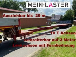 Tieflader Auflieger Goldhofer STZ -L5-55/80 Ausziehbar auf 29m 74.000 kg