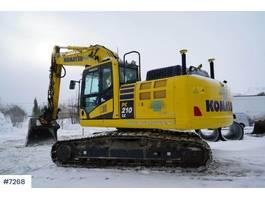 crawler excavator Komatsu PC 210 LC - 11 2017