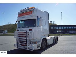 cab over engine Scania R730 6x2 Top equipped truck with cooler on the roo 2015