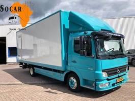 closed box truck > 7.5 t Mercedes-Benz Atego 818 L (Apk -Tuv untill 04-02-2021) 2008