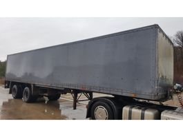 closed box semi trailer Groenewegen DRO-II-20 1982