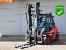 forklift Linde H70 D -02 7 Ton - Diesel forklift - AC - Heated seat 2015