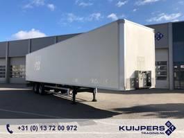 closed box semi trailer Tracon TO / 2 as Disk / Box / APK TUV 2007