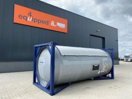 tank container GASCON 20FT, 2016 Gastank, UN PORTABLE, T50, 25.000L, MAWP: 15,1 bar, va... 2016