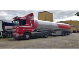 Tankauflieger Auflieger Scania R 420 + Fueltrailer 40000 Liter Petrol Diesel ADR 2007