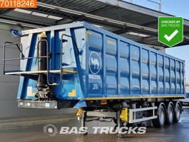 tipper semi trailer Wielton NW-3 56m3 Stahl-Kipper *New Unused* Liftachse TIR SAF 2020