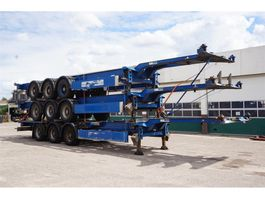 container chassis semi trailer Carnehl Container chassis Steel suspension / 5100KG / 40ft. / 30ft. / 20ft. / 2x... 2007