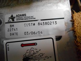 cooling equipment part Adams 84380213