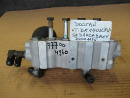 hydraulic system equipment part Doosan DX140LCR-3