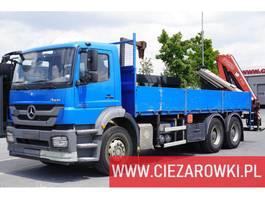 platform truck Mercedes Benz Axor 2633 , E5 , 6x4 , box 6,5m , Fassi 175A + rotator 2014