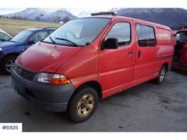 closed lcv Toyota Hiace 4W van w / 3 seats 2004
