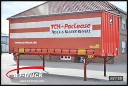 curtain slider swap body container Krone WB 7,45 BDF Tautliner, Edscha  Wechselbrücke 2007