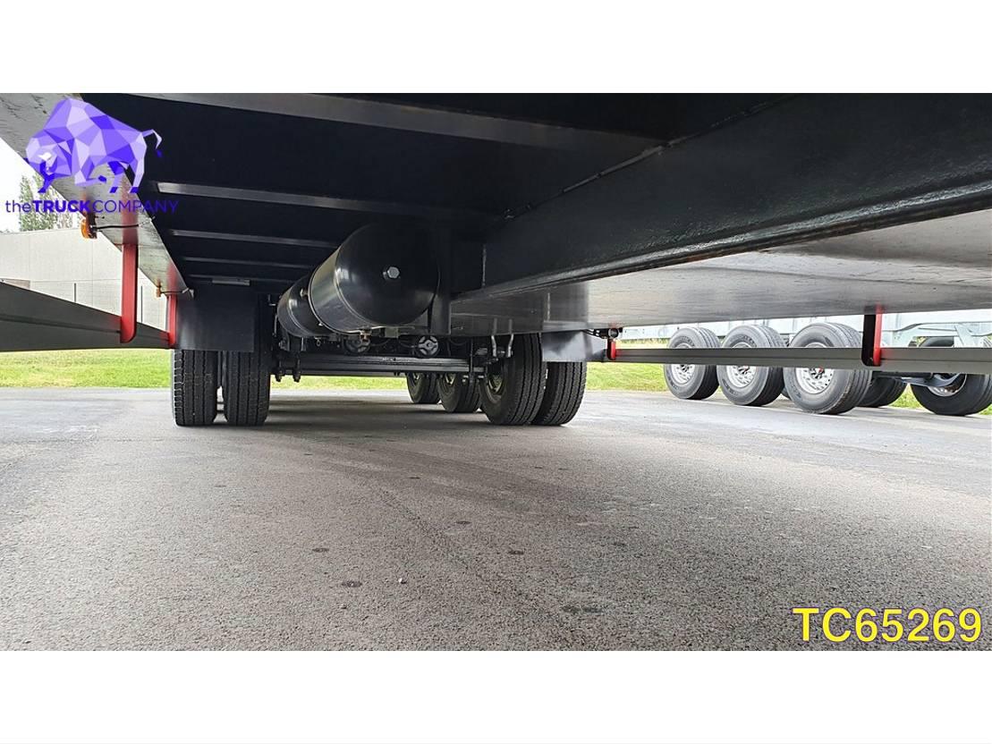 Tieflader Auflieger DIV. Hoet Trailers LT3-56T Low-bed 2019