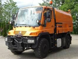 road sweeper Unimog U 400 4x4 EURO5 Kehrmaschine Faun