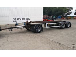container chassis trailer Draco ACS 328 2001