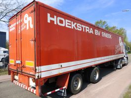 closed box semi trailer Groenewegen TRX06 1995