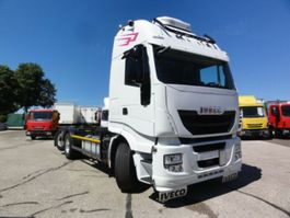 chassis cab truck Iveco AS260S46Y/FS E6 Lenkachse Intarder Standklima