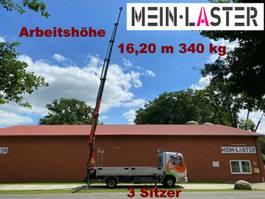 work platform lcv Mercedes Benz 818 Atego Palfinger PK 9501 E  16m -380 kg
