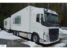 closed box truck > 7.5 t Volvo FH 540 Box truck & Ekeri trailer with full side op 2014