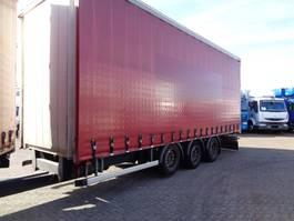 sliding curtain trailer Fruehauf Frect 4 + 3 Axle 2013