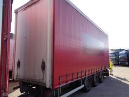 sliding curtain trailer Fruehauf Frect 4 + 3 axle + ADR 2013
