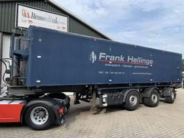 tipper semi trailer Bulthuis TATA 23 52m3 ALU Kipper Lenkachse Liftachse Klep/deuren 2002