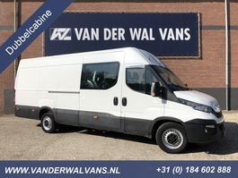 closed lcv Iveco Daily 35S18V 3.0L L3H2 Dubbele Cabine Maxi *Automaat*   Airco Cruise 6-Persoon... 2018