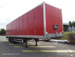 closed box semi trailer Samro Droge vracht Roldeur 2012