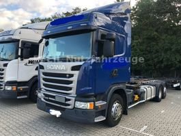 chassis cab truck Scania G410 Highline- EURO 6- RETARDER- Multiwechsler