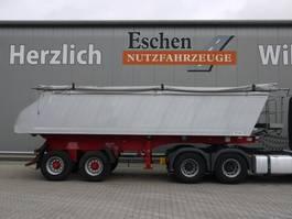 tipper semi trailer Meiller MHKS 41/2, 23 m³ Alumulde, Schüttung, Podest, Luft, Plane, BPW, Stützbeine 2006