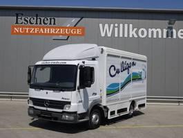 Verkaufwagen LKW Mercedes-Benz 815 L, Atego, Rolltorkoffer, 3 Sitzplätze, Klima, Blatt/Luft 2005