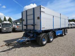 tipper trailer Kel-Berg 4 Axle tipper 30 ton 36 m3 2014