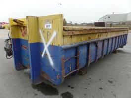 open top shipping container VERNOOY CONTAINER 8117 GEBRUIKT MET DEKSEL 8117