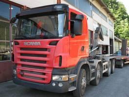 swap body truck Scania R480 8x4 Manuell Retarder AHK E5 Leasing 2009