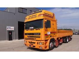 platform truck DAF 95 ATI 430 (MANUAL PUMP / EURO 2 / 6X2 / 8 TIRES) 1997