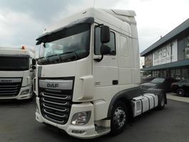 mega-volume tractorhead DAF XF 460 FT SPACE CAB LOW DECK ZF INTARDER 2016