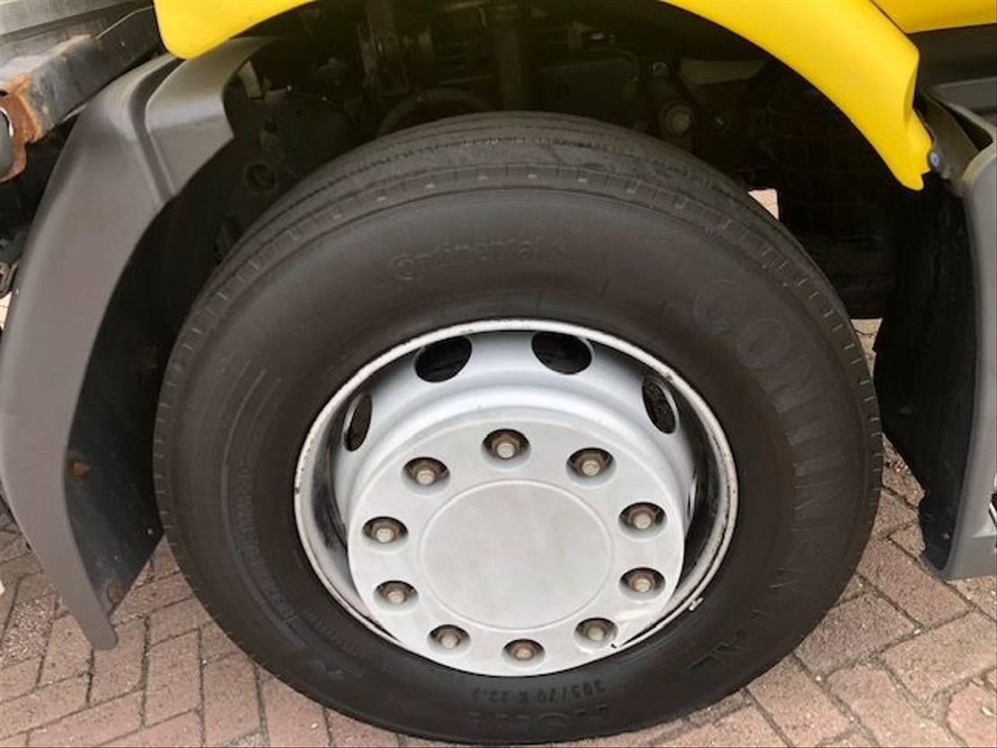 closed box truck > 7.5 t Renault MIDLUM 18.270 DXI AUTOMATIC 2012