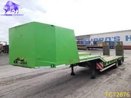 Tieflader Auflieger Galtrailer Low-bed 2014