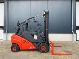 вилочный погрузчик Linde H30D-02 3 ton Diesel Sideshift Position Heftruck 2013
