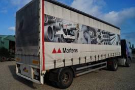 sliding curtain semi trailer Van Eck 1-assige oplegger 1991