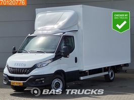 closed box lcv < 7.5 t Iveco Daily  35S18 3.0 Superdeal Laadklep Bakwagen Airco Cruise A/C Cruise con... 2020