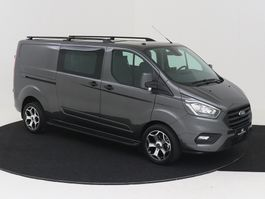 closed lcv Ford Transit Custom 320 130 PK L2H1 DC 5P TREND AUTOMAAT NAVIGATIE AIRCO LED ... 2020