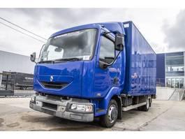 closed box truck > 7.5 t Renault MIDLUM 150 DCI 2004