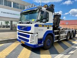 container truck Volvo FM 500 EEV 8x4 Kraan/haak 2012