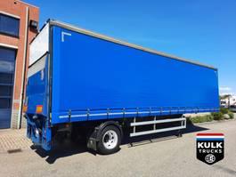 sliding curtain semi trailer Fruehauf ONCRK 22-110 A CITY / HARDHOUT VLOER / NEW APK 2001